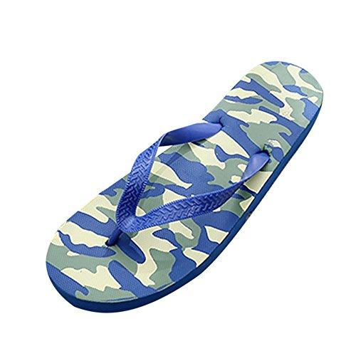 Azul Deslizamiento Playa De Anti Hombres Zapatos Sandalias Zapatillas Camuflaje ALIKEEYVerano zRFqtB8
