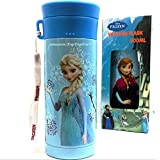 Authentic Frozen Anna Elsa Olaf Stainless Steel Vacuum Flask Thermos Water Bottle Keep Warm Cold 10Hrs