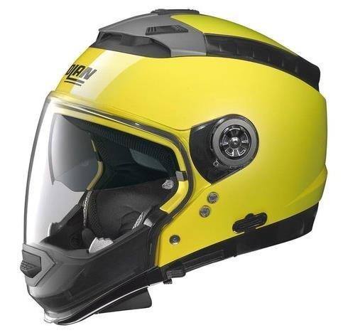 Nolan N44 Hi-Visibility Helmet (Hi-Vis Yellow, (N-com Motorcycle Helmet)