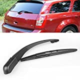 Black Rear Window Wiper Arm + Blade Durable For Dodge Magnum 2005-2008