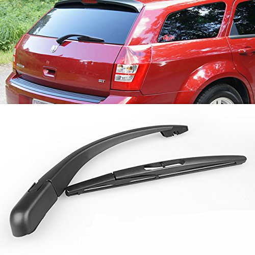 New Durable Black Rear Window Wiper Arm + Blade For Dodge Magnum Nitro