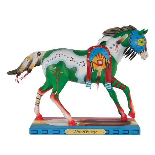 Trail of Painted Ponies Rites of Passage Figurine, 6-3 4-Inch