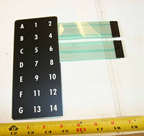 6000 Touchpad (AP 6000 7000 snack vending machine touch pad matrix keyboard selector assemby, part no. 660266-1)