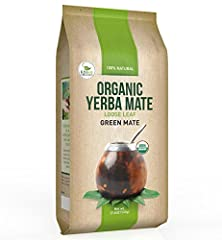 Yerba Mate Loose Leaf Tea by Kiss Me Organics is a powerful and all natural, appetite curbing tea that provides energy, improves digestion and boosts your immune system. Our Yerba Mate contains vitamins A, B, C, E as well as calcium, iron, ma...