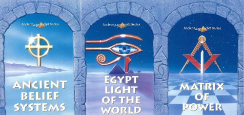 Ancient Mysteries: Ancient Belief Systems, Egypt Light of the World, and, Matrix of Power - by Jordan Maxwell (3 DVD SERIES)