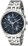 Image of Citizen Men's Eco-Drive Chronograph Stainless Steel Watch with Date, AT2141-52L