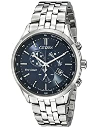 Citizen Men's Sapphire Collection AT2141-52L Wrist Watches, Blue Dial