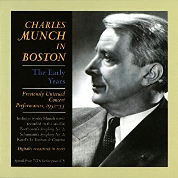MOZART DON GIOVANNI METROPOL - Charles Munch in Boston: The Early Years - Amazon.com Music