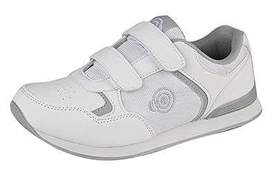 Dek , Damen Bowling- & Kegelschuhe Weiß weiß/grau