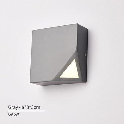 HJXJXJX Applique a LED Applique a parete colorata per soggiorno ...