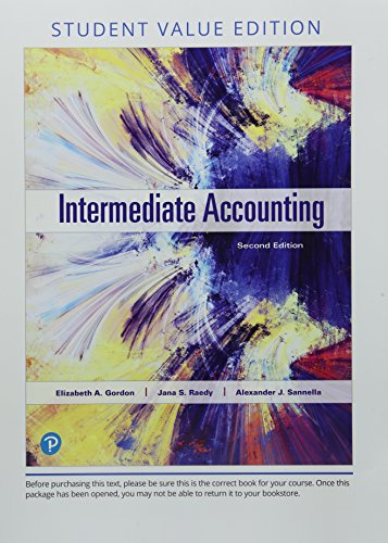 Intermediate Accounting, Student Value Edition (2nd Edition)