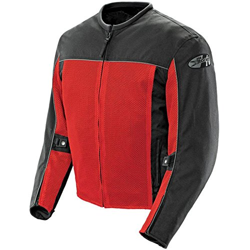 Velocity Jacket (Joe Rocket Men's Velocity Mesh Motorcycle Jacket (Red, XX-Large))