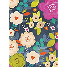 2018 Blooming Floral Monthly Planner