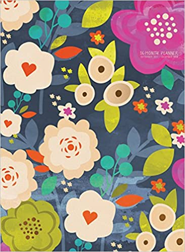 tf publishing blooming floral 16 month monthly planner 18 4205