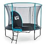 10ft Trampoline - New Genius Round - Kids Trampoline - Blue - TP Toys