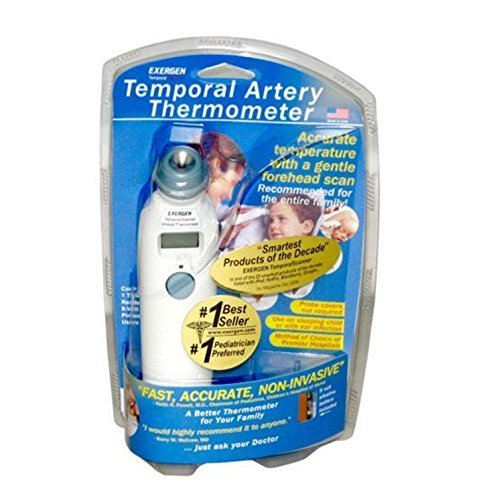 EXERGEN TEMPORAL ARTERY THERMOMETER TAT-2000C SCAN (Original Version) (The Best Baby Thermometer Uk)
