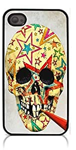HeartCase Hard Case for iPhone 6 4.7 (Skull Tattoo Partterned )