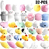 Funpa Squishy Toy Set Cute Stress Relief Toy Cartoon Animal Slow Rising Squeeze Toy for Kids (Random Color)