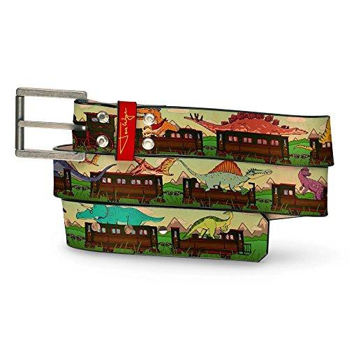 Dino Train Leather Belt (Dino Leather)