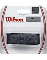 Wilson Unisex Basisgriffband Sublime, schwarz, 1 Stück, WRZ4202BK