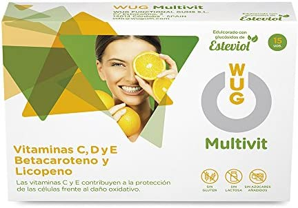 WUG Multivit Chicle con vitaminas 15 unidades