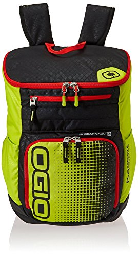 OGIO C4 Compete Series Lime Punch 15'' Laptop Travel Backpack by OGIO