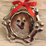 Dog Bone Resin Picture Frame Christmas Ornament