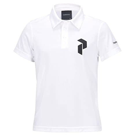 PEAK PERFORMANCE Kids Golf panmore Polo White 150: Amazon.es ...