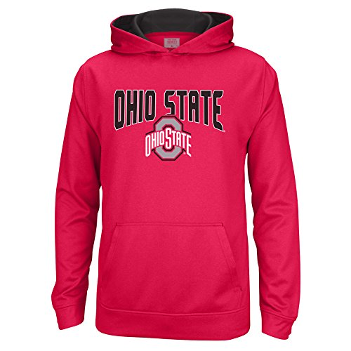 NCAA Ohio State Buckeyes Youth Foundation Poly Hoodie, Large, ()