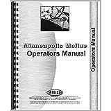 New Minneapolis Moline LS 300 Tractor Operators Manual