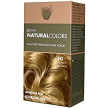 ONC Natural Colors Ammonia and Resorcinol Free Permanent Hair Color, 8G Honey Blonde, 120ml / 4 oz.