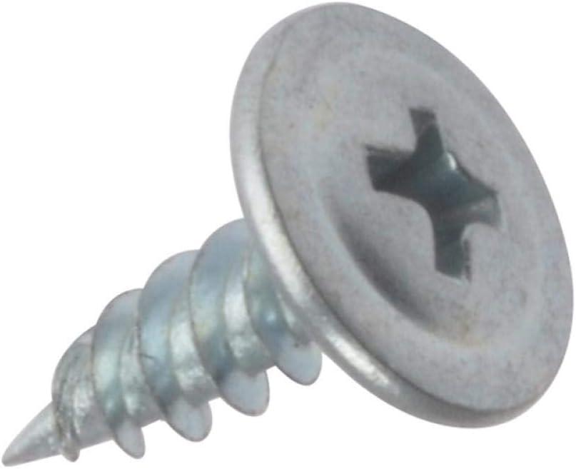 Forgefix DWSWH13 Vis /à pointe autoforeuse pour plaque de pl/âtre Zingu/é
