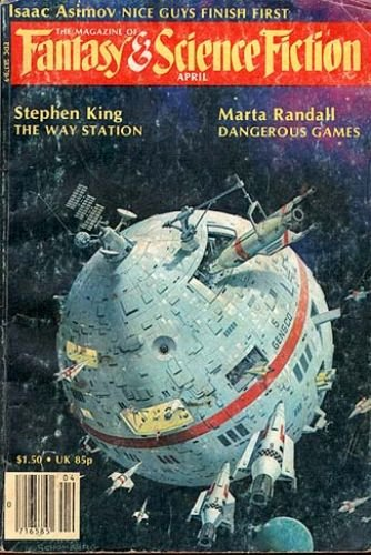 The Magazine of Fantasy & Science Fiction, Vol. 58, No. 4 (April, 1980)