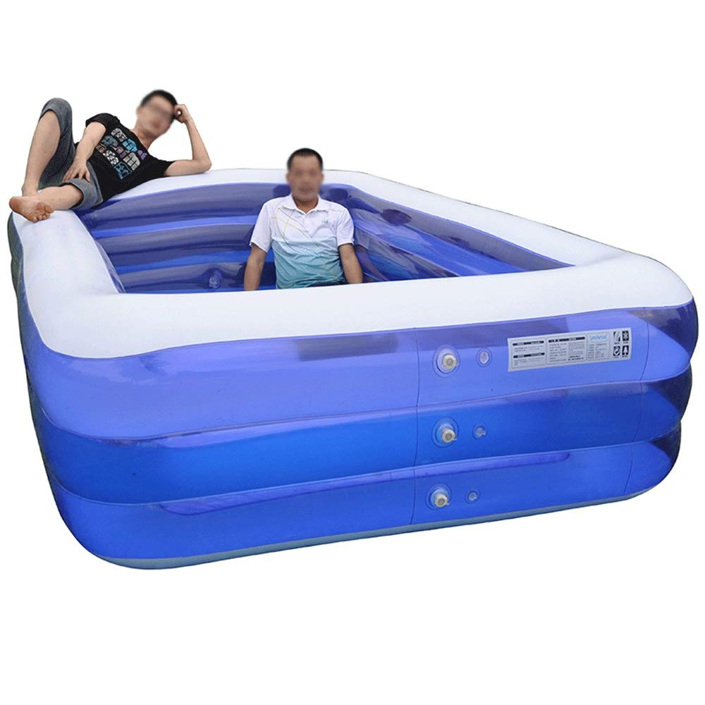 Szblk Übergroße Kinder aufblasbare Pool Verdickung Baby Baby Home Swimming Eimer große Erwachsene Kinder Planschbecken  XXXL