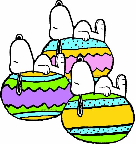 Eureka Peanuts It's The Easter Beagle Paper Cut Outs -