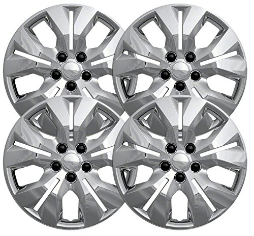 """2012 Chevy Cruze 16"""" Chrome Bolt On Wheel Covers (Set of 4)"""
