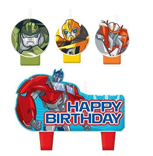 Birthday and Theme Party Supplies SmileMakers Transformers Rescue Bots Stickers 75 per Pack