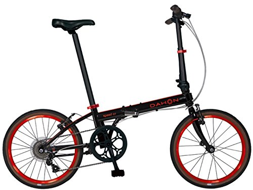 Find Bargain Dahon Speed D7 Street 20'' 7 Speed Folding Bicycle (Black/Red)