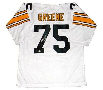 7d16816c772 Joe Greene Autographed Jersey -  75 White Throwback - JSA Certified -  Autographed NFL Jerseys