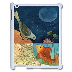 Personalized Unique Design Case for Ipad 2,3,4, Fish love Cover Case - HL-R686390