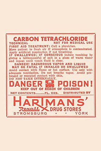 Buy buyenlarge 'carbon tetrachloride' textual art