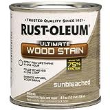 Rust-Oleum 260368 Ultimate Wood Stain, Half Pint, Sunbleached by Rust-Oleum