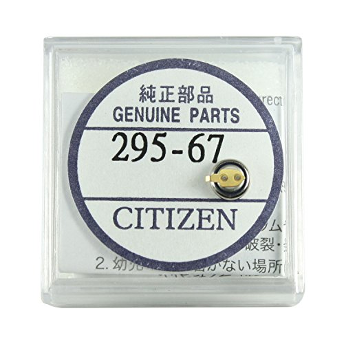 Original Citizen Capacitor Battery 295-67 for Eco-Drive (Watch 56e)