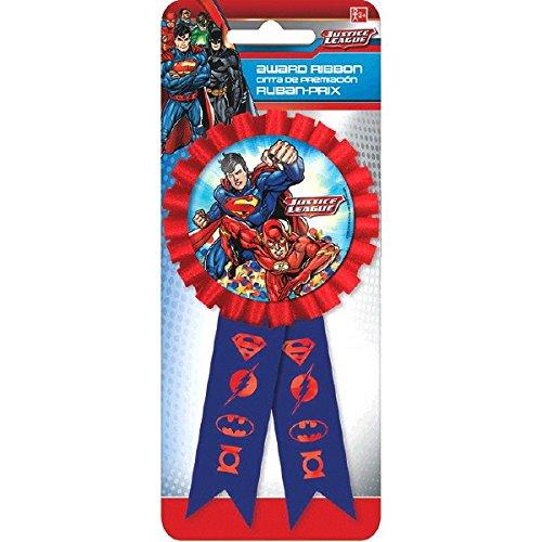 211585 Justice League Confetti Pouch Award Ribbon Party Favor TradeMart Inc