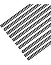 100% Pure Carbon Fiber Rod-Used for Remote Control Planes, Drones, Quadcopters, Special DIY Projects, Solid, 500 Mm in Length, 10 Rods,1mm*500mm(D*L)