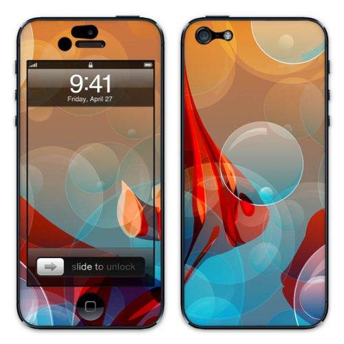 Diabloskinz B0081-0004-0042 Vinyl Skin für Apple iPhone 5/5S Underwater