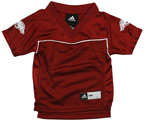 Arkansas Razorbacks NCAA Little Boys Replica Jersey - Red (12 Months)