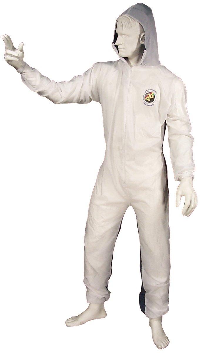 Astro 4561 Large Reusable Coverall with Velcro Wrists and Ankles Astro Pneumatic Tool