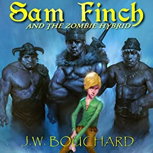 Sam Finch and the Zombie Hybrid Audiobook