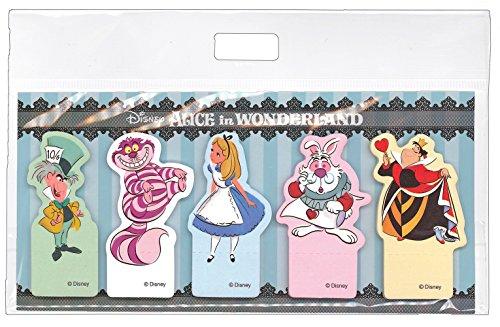 Disney Princess Alice in wonderland Die cut Sticky Note Post it DZ-78324